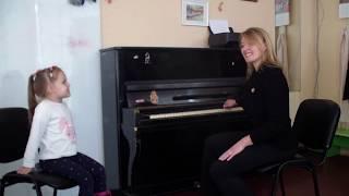 Урок вокала для малышей.Распевка!
