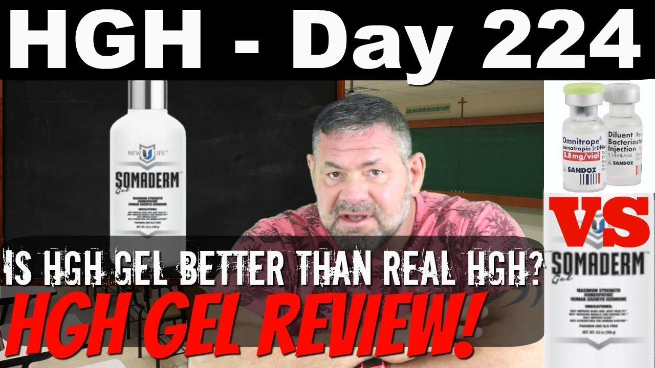 HGH Day 224 - Is HGH Gel Better Than Injectable HGH?