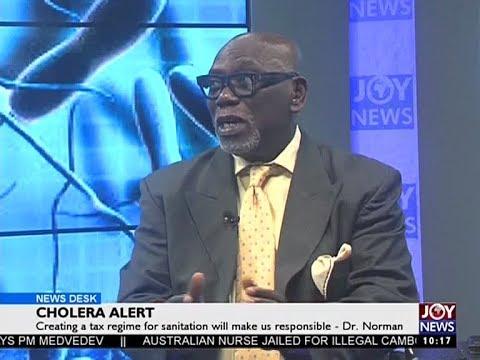 Cholera Alert - News Desk on Joy News (4-8-17)
