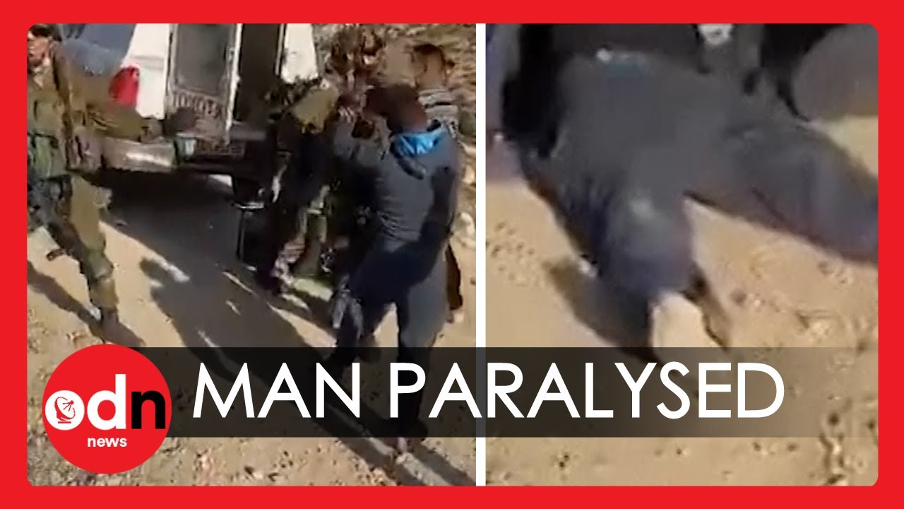 Shocking! Palestinian Man Paralysed After Being Shot by Israeli Military