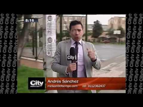 Dos presuntos asaltantes fueron amarrados a un poste en Bogotá| Citytv