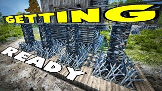 Getting Ready   Starvation Mod   7 Days To Die Alpha 16 Let's Play Gameplay PC   E12