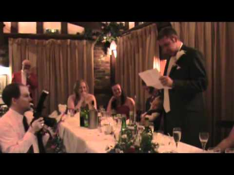 The Best and Most Emotional Groom Speech EVER WEBM - Marlie