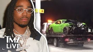 Migos' Offset Hospitalized After Wreck! | TMZ Live