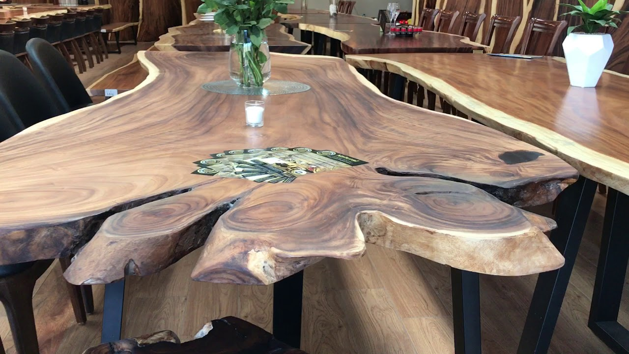 Furniture Shops In Hoppers Crossing Live Edge Timber Slab Top 2 8metre Long At Natural Timber Stone Furniture Shop Melbourne