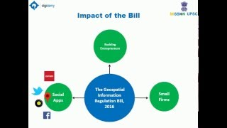 Geospatial Information Regulation Bill, 2016 and Its Impact .