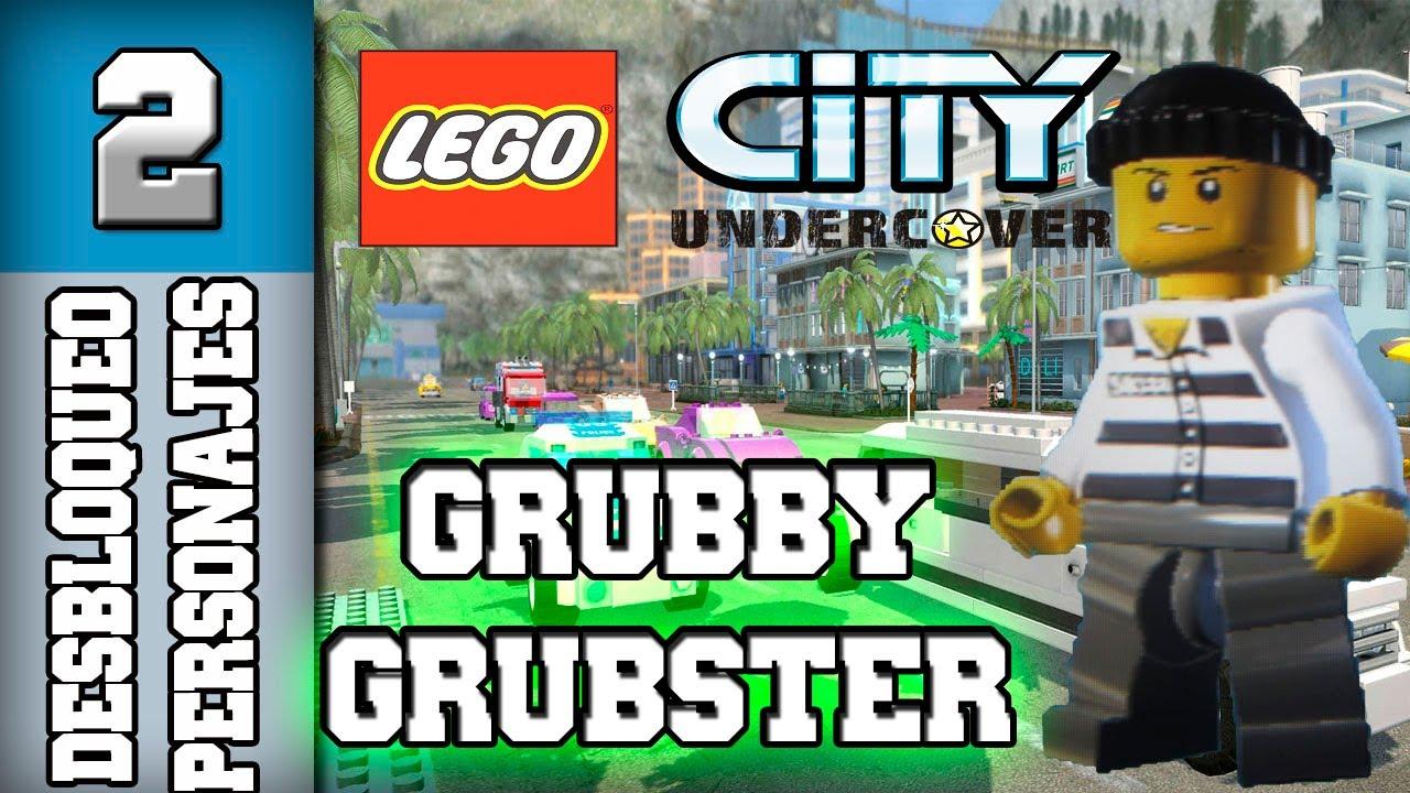 lego city undercover guia  desbloqueo personajes  parte2