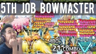 Testing Out 5th Job Bowmaster! : MapleStory V [GMST]