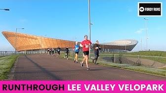 Runthrough Lee Valley Velopark 5k 10k 10 Mile & Half Marathon