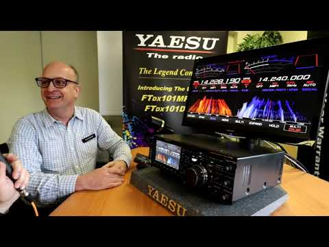 Yaesu FT DX 101D Release Model Hands-On Review, Price and Introduction