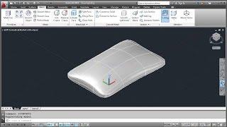AutoCAD 3D Pillow Tutorial