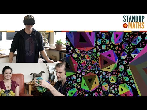 Exploring Hyperbolic Space with VR (and crochet)