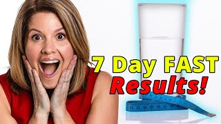 7 Day Water Fast Results Are In!