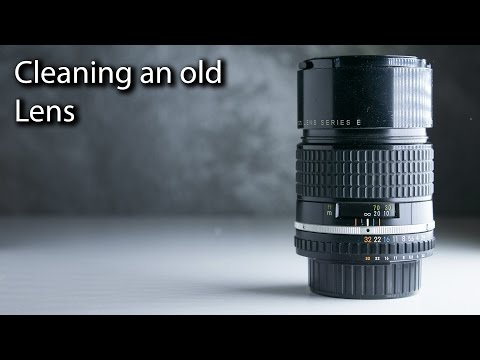 How to Clean a DSLR Lens