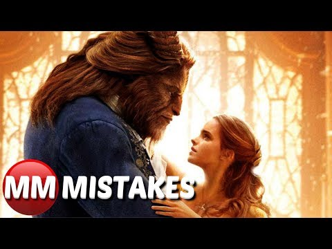 10 Beauty and the Beast Live Action MOVIE MISTAKES You Missed | Beauty and the Beast Film Fails