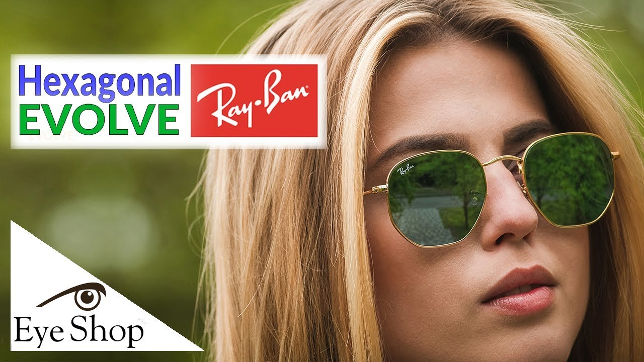 639878fb89a Rayban Hexagonal Evolve 3548N unboxing 2019 - YouTube