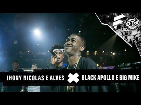 JHONY, NÍCOLAS WALTER E ALVES X APOLLO, BLACK E BIG MIKE | BDA 3 ANOS | PRIMEIRA FASE