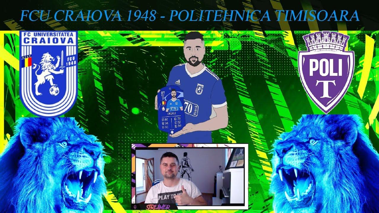 ?[ LIVE ] FCU Craiova 1948 - Poli Timisoara Cupa României | Șaisprezecimi