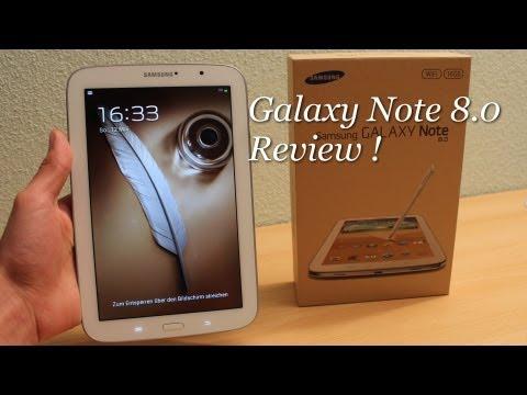 Samsung Galaxy Note 8.0 Review ! [German/Deutsch]
