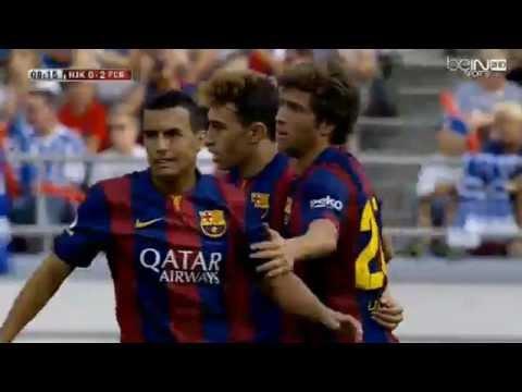 HJK Helsinki vs FC Barcelona 0-6 ( Friendly Match