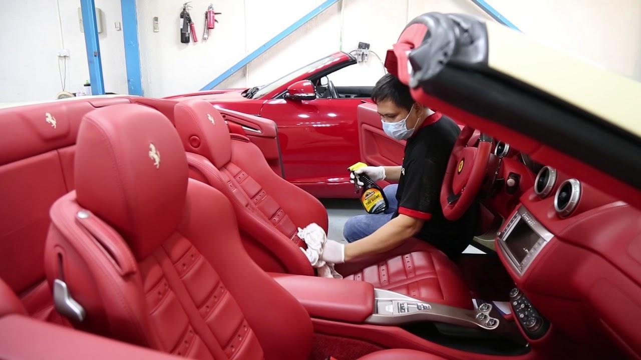 Leather Car Seat Repair Shop Dubai Abu Dhabi Sharjah