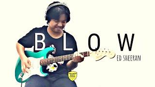 BLOW ED SHEERAN GUITAR COVER - Rizky januardi