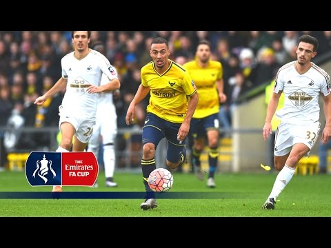 Oxford Utd 3-2 Swansea - Emirates FA Cup 2015/16 (R3) | Goals & Highlights