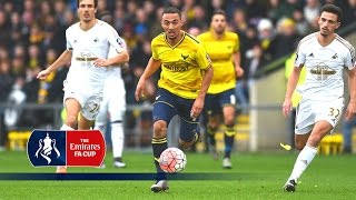 Download Video Oxford Utd 3-2 Swansea - Emirates FA Cup 2015/16 (R3) | Goals & Highlights MP3 3GP MP4
