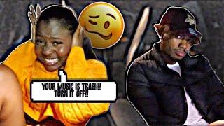 YOUR MUSIC IS TRASH PRANK ON BOYFRIEND .. EMOTIONAL ! | BOYFRIEND VS GIRLFRIEND