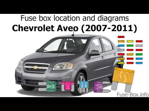 [SCHEMATICS_44OR]  Fuse box location and diagrams: Chevrolet Aveo (2007-2011) - YouTube | Chevrolet Aveo Fuse Box Diagram |  | YouTube