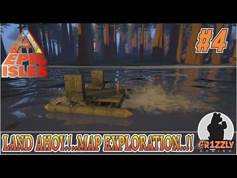 ARK:Survival Evolved EPIC ISLANDS MODDED - Islands Exploration!! - EP4