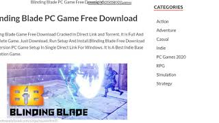 Blinding Blade PC Game Free Download