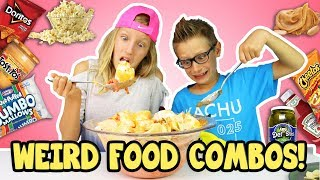 WEIRD FOOD COMBINATIONS PEOPLE LOVE!!!!!