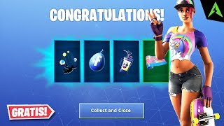 14 DAYS OF SUMMER.. New missions * ITEME FREE * in Fortnite!