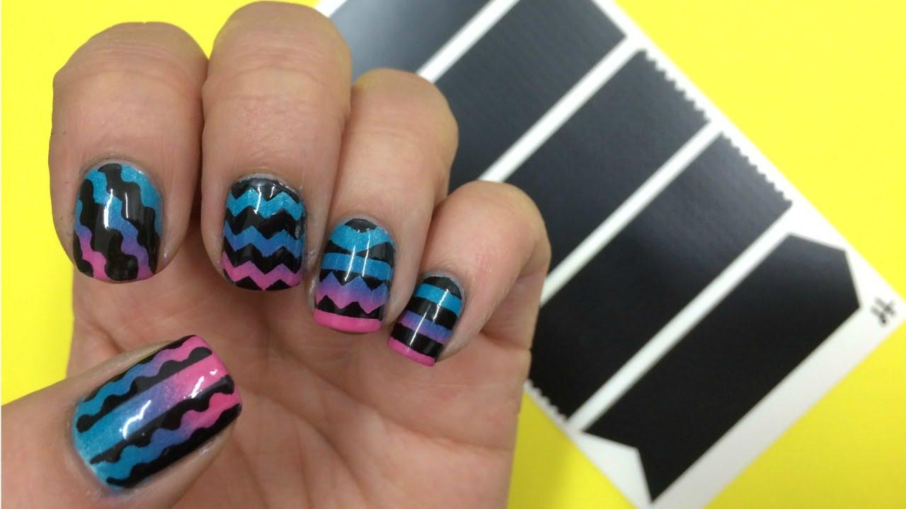 Plantillas Para Decoracion De Uñas Nail Art Stencil