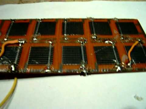 how to repair a solar cell (element)