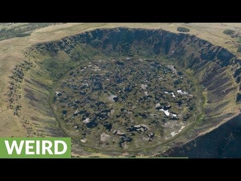 Bizarre secret CIA declassified file on lost ancient human civilizations