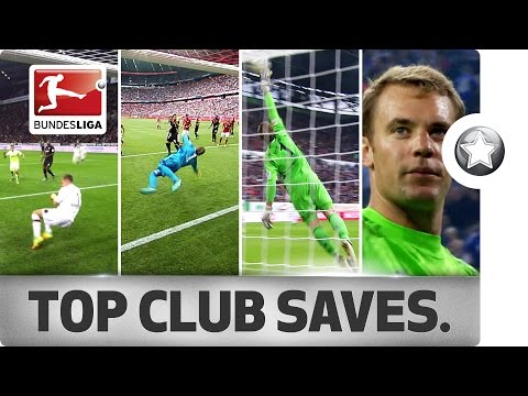 18 Clubs - 18 Saves – Best Save From Every Bundesliga Club So Far in 2016/2017