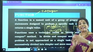 I PUC | Computer science |  User defined functions