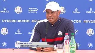 Ryder Cup 2018 : Tiger Woods brille seulement dans les tribunes