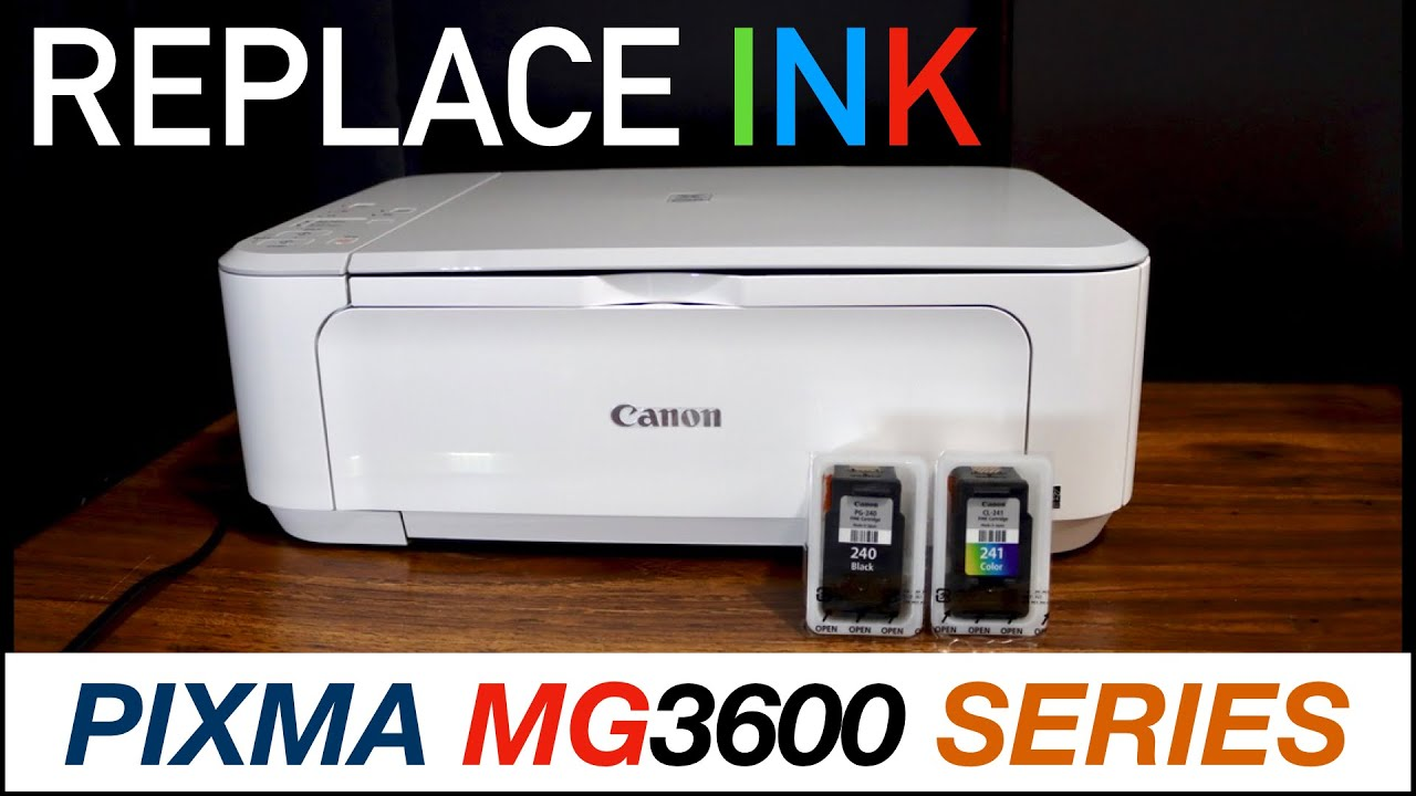 Canon Pixma MG20 Ink Cartridge Replacement