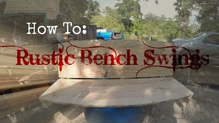 Diy Wooden Bench Swing