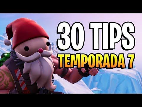 30 TIPS para MEJORAR en FORTNITE (TEMPORADA 7)