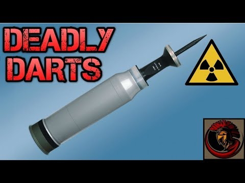 Depleted Uranium Tank Ammunition | DEADLY DARTS 💀☄️