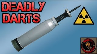 Depleted Uranium Tank Ammunition | DEADLY DARTS 💀☄️