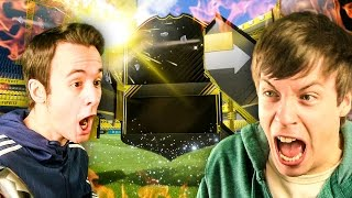 THE LUCKIEST PACK OPENING EVER IN FIFA 17 ULTIMATE TEAM!!!!
