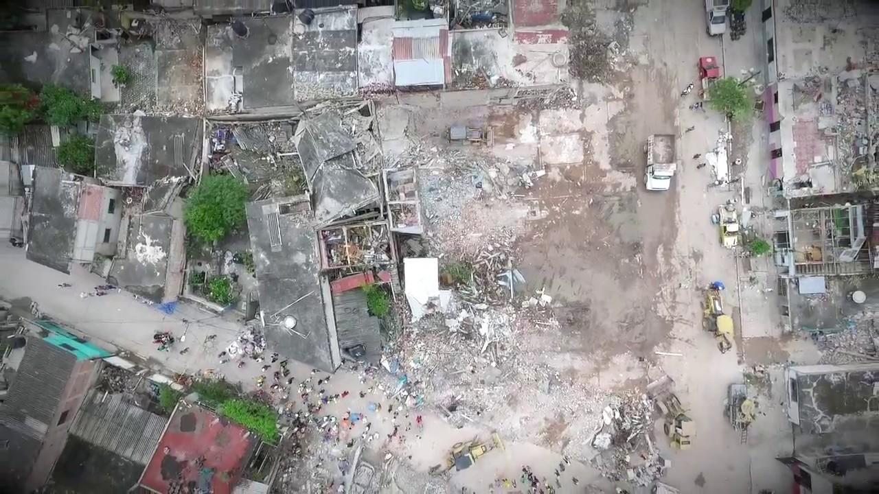 Drone Jojutla Morelos Méx Sismo 19 De Septiembre Youtube