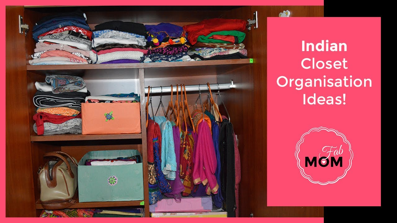 How To Organise Small Closet In Budget? || Indian Closet Organisation Ideas