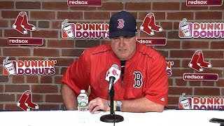 CHC@BOS: Farrell on missed opportunities in 7-4 loss