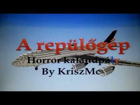 A repülőgép trailer (Minecraft 1.8 kalandpálya)
